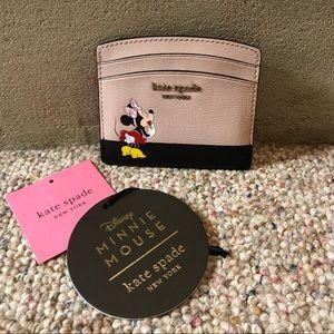 kate spade Accessories - HP 🆕 Kate Spade x Disney Minnie Mouse Card Holder
